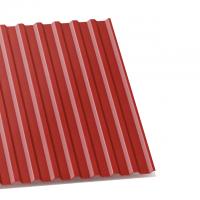 профнастил с-20 вишневый двухсторонний 0,4 мм с-20