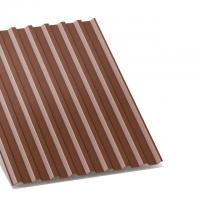профнастил с-20 коричневый двухсторонний 0,35 мм c-20