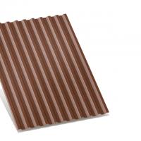 профнастил с-21 коричневый двухсторонний 0,4 мм c-21