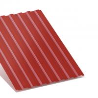 профнастил с-8 вишневый двухсторонний 0,45 мм с-8