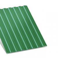 профнастил с-8 зеленый двухсторонний 0,35 мм с-8
