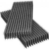 сетка кладочная черная в картах 50х50х5(0,5х2) кладочная черная в картах