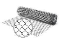 сетка рабица оцинкованная 55х55х1,6(1,5х10) сетка рабица оцинкованная