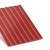 Профнастил С-8 вишневый двухсторонний 0,35 мм
